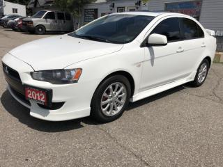 Used 2012 Mitsubishi Lancer 4dr Sdn SE FWD with sunnrof and low payments for sale in Brampton, ON