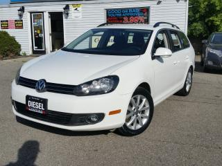 Used 2012 Volkswagen Golf Wagon TDI DSG  rising gas prices?  Diesel baby accident free for sale in Brampton, ON