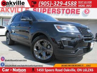 Used 2018 Ford Explorer Sport | 365 HP! | NAVI |  PANO ROOF | LIKE NEW! for sale in Oakville, ON