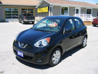 Used 2015 Nissan Micra SV 5Door *AUTO*A/C*POWER GROUP for sale in Smiths Falls, ON