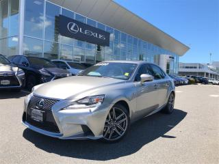 Used 2014 Lexus IS 350 F SPORT SERIES PACKAGE AWD SUMMER SPECIAL 6A for sale in Surrey, BC