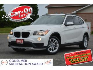 Used 2015 BMW X1 xDrive28i LEATHER PANO ROOF HTD SEATS LOADED for sale in Ottawa, ON