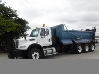 Used 2009 Freightliner M2 112 Diesel Plow-Ready Triple Axle Dump Air Brakes for sale in Burnaby, BC