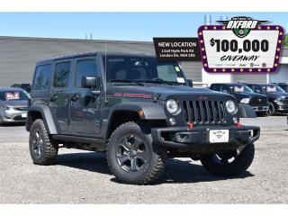 Used 2018 Jeep Wrangler Unlimited Rubicon - Dual tops, GPS, Bluetooth, Hea for sale in London, ON