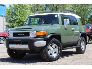 Used 2010 Toyota FJ Cruiser RARE*NEVER-OFFROAD*NO ACCIDENTS*MINT for sale in Mississauga, ON