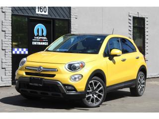 Used 2017 Fiat 500X Trekking*Pano Roof*Rem Start*Camera*STYLISH for sale in Mississauga, ON