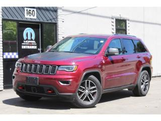 Used 2017 Jeep Grand Cherokee Trailhawk*Luxury Edition*Full Leather*Adaptive Cru for sale in Mississauga, ON
