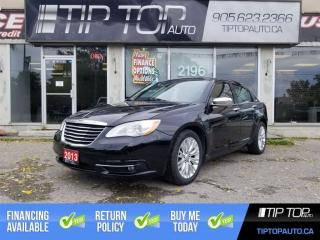 Used 2013 Chrysler 200 Limited ** Leather, Bluetooth, Sunroof, Heated Sea for sale in Bowmanville, ON
