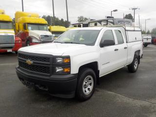 Used 2014 Chevrolet Silverado 1500 Double Cab Regular Box 4WD with Canopy for sale in Burnaby, BC