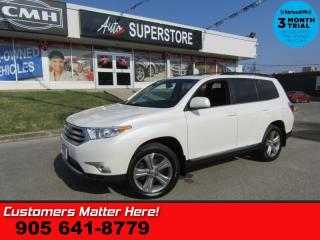 Used 2012 Toyota Highlander Sport  4X4 (NEW TIRES) LEATHER ROOF CAM PWR-GATE 6-PASS HS for sale in St Catharines, ON
