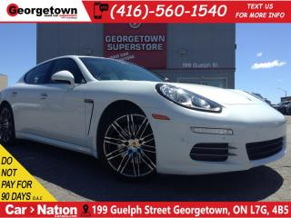 Used 2016 Porsche Panamera 4 | NAVI | AWD | BOUGHT FROM PORSCHE | for sale in Georgetown, ON