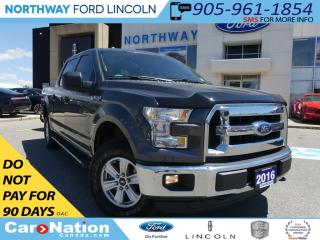Used 2016 Ford F-150 XLT | 4X4 | REAR CAMERA | BLUETOOTH | BED LINER | for sale in Brantford, ON