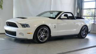 Used 2010 Ford Mustang Cabriolet Shelby GT500 for sale in Blainville, QC