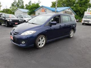 Used 2010 Mazda Mazda5 SUNROOF LEATHER SAFETIED GT for sale in Madoc, ON