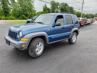 Used 2005 Jeep Liberty 4x4 Safetied 146k No Rust Sport for sale in Madoc, ON