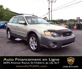Used 2005 Subaru Outback **AWD/AUTOMATIQUE/AIR/MAGS/G.ÉLECT.** for sale in Saint-hubert, QC