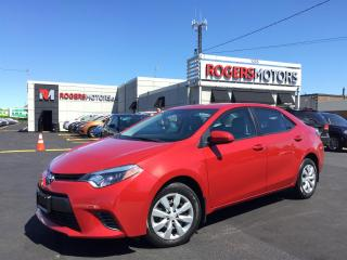 Used 2015 Toyota Corolla LE - BLUETOOTH - REVERSE CAM for sale in Oakville, ON