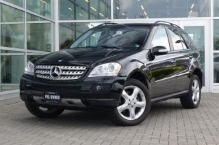 Used 2008 Mercedes-Benz ML 350 4MATIC *Clean* for sale in Vancouver, BC