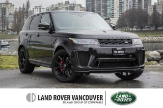 Used 2018 Land Rover Range Rover Sport V8 Supercharged SVR *Certified Pre-Owned! 6Yr/160,000km Land Rover Warranty! for sale in Vancouver, BC