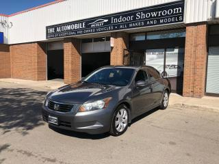 Used 2009 Honda Accord EX-L LEATHER SUNROOF ONE OWNER NO ACCIDENT for sale in Mississauga, ON