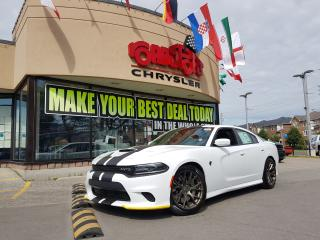 Used 2018 Dodge Charger SRT Hellcat PROOF BRONZE WHEELS NAVI APPLE CARPLAY for sale in Scarborough, ON