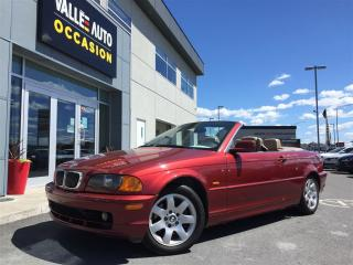 Used 2001 BMW 325 Ci Cabriolet,a/c for sale in Saint-georges, QC
