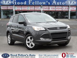 Used 2016 Ford Escape SE MODEL, 4WD, REARVIEW CAMERA, 1.6 LITER ECOBOOST for sale in North York, ON