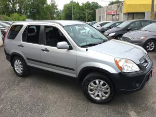 Used 2006 Honda CR-V EX/ ALLOYS/ POWER GROUP/ LOADED for sale in Scarborough, ON