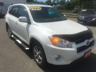 Used 2010 Toyota RAV4 LIMITED  for sale in St Catharines, ON