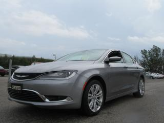 Used 2016 Chrysler 200 BLUE TOOTH / ONLY 656 KILOMETERS for sale in Newmarket, ON
