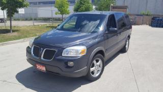 Used 2008 Pontiac Montana Only 126000 km,7 Pass,DVD, 3/Y warranty available for sale in North York, ON