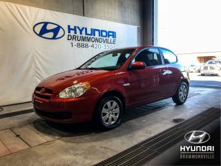 Used 2010 Hyundai Accent L AUTOMATIQUE + BAS KM + WOW ! for sale in Drummondville, QC