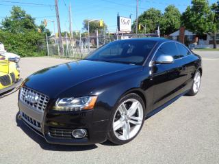 Used 2009 Audi S5 4.2L - V8 - NAVIGATION - CAMERA - CARBON FIBER for sale in Etobicoke, ON