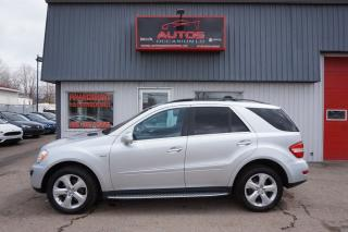 Used 2010 Mercedes-Benz ML-Class ML350 BLUETEC AWD for sale in Saint-romuald, QC