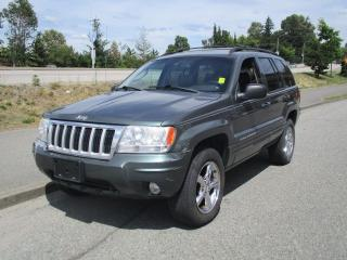 Used 2004 Jeep Grand Cherokee Limited for sale in Surrey, BC