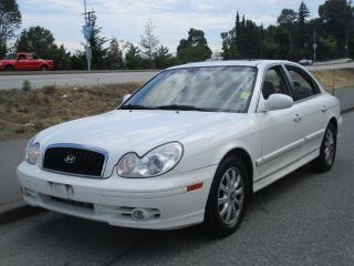 Used 2005 Hyundai Sonata GLX for sale in Surrey, BC