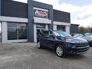 Used 2015 Jeep Cherokee Limited 4 X 4 + CUIR + VITRES TEINTÉES for sale in Sherbrooke, QC