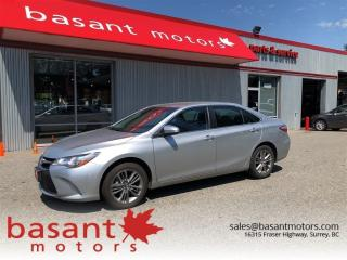 Used 2017 Toyota Camry SE, Heated Seats, Backup Camera, Alloy Wheels!! for sale in Surrey, BC