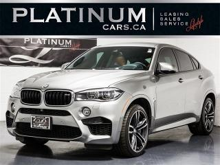 Used 2015 BMW X6 M 567HP, NAVI, Exec PKG, Heads UP, Merino X6 M for sale in Toronto, ON