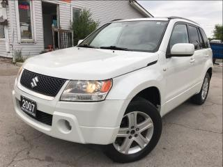 Used 2007 Suzuki Grand Vitara Accident Free|One Owner|Leather|Sunroof|Bluetooth for sale in Burlington, ON