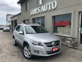 Used 2010 Volkswagen Tiguan Highline for sale in Hamilton, ON