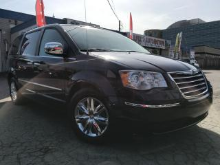 Used 2008 Chrysler Town & Country Limited w/NAVI_ DVD_BACKUP CAM_SUNROOF_LEATHER for sale in Oakville, ON