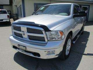 Used 2011 Dodge Ram 1500 'GETS WORK DONE' SLT EDITION 5 PASSENGER 5.7L - HEMI.. 4X4.. CREW.. SHORTY.. CD/AUX INPUT.. KEYLESS ENTRY.. for sale in Bradford, ON