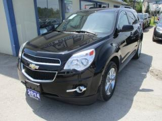 Used 2014 Chevrolet Equinox LOADED 2-LT MODEL 5 PASSENGER 3.6L - V6.. LEATHER.. HEATED SEATS.. PIONEER AUDIO.. NAVIGATION.. SUNROOF.. BACK-UP CAMERA.. for sale in Bradford, ON