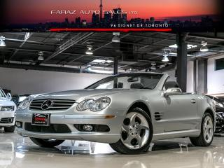 Used 2004 Mercedes-Benz SL500 NAVI|MASSAGE|PANO ROOF|COOLED SEATS for sale in North York, ON