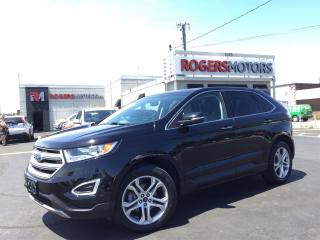 Used 2016 Ford Edge 2.0 TITANIUM - NAVI - PANO ROOF - LEATHER for sale in Oakville, ON