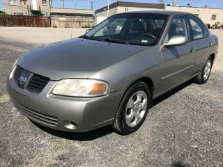 Used 2004 Nissan Sentra Berline 4 portes 1,8S boîte automatique for sale in Montreal-nord, QC