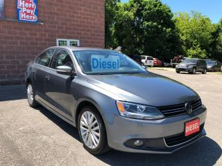 Used 2013 Volkswagen Jetta TDI/DIESEL/NO ACCIDENT/CERTIFIED/WARRANTY INCLUDED for sale in Cambridge, ON