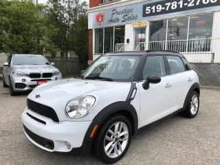 Used 2012 MINI Cooper Countryman S/NO ACCIDENT/CERTIFIED/WARRANTY INCLUDED for sale in Cambridge, ON
