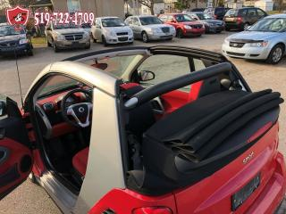 Used 2009 Smart fortwo CONVERTIBLE/ONE OWNER/CERTIFIED/WARRANTY INCL for sale in Cambridge, ON